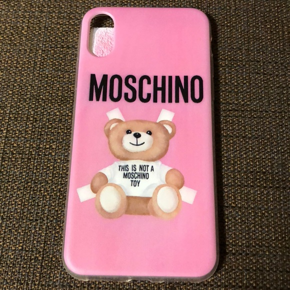 low priced 9844a 3218a Moschino IPhone X case 📱